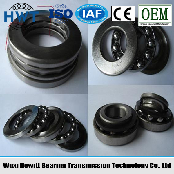 thrust ball bearing 51184 single direction dimension 420*500*65 mm low noise