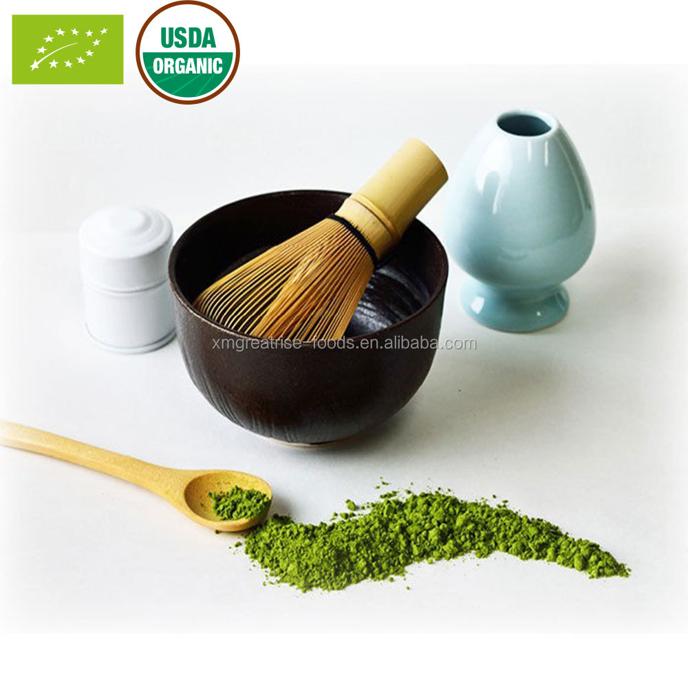 Wholesale Private Label Health Food Organic Matcha Green Tea Powder