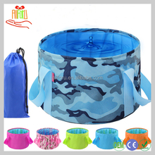 Outdoor Ultralight Washbowl Nylon Folding Travel Water Basin