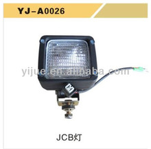 JCB Replaceable plastic Square Lamp for excavator china supplier good quality