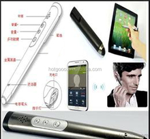 bluetooth stylus pen multifunction metal pens talking pen for the blind