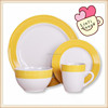 SS047 hand painted ceramic tableware set high quality porcelain dinner set