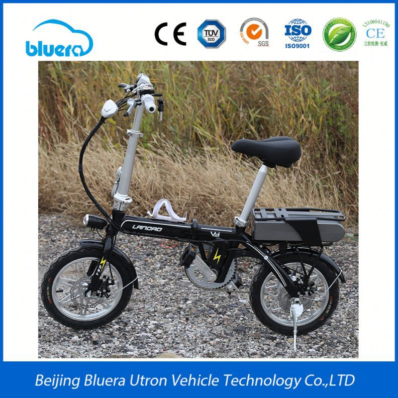 Hight Quality E Bicycle Chainless Mini 48V 36V Folding Electric Bike