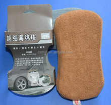 Microfiber Car Care Windows Polishing Cleaning Pad