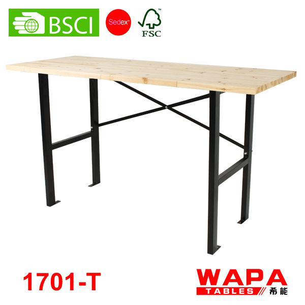 1m x3pcs used folding wallpaper tables for sale