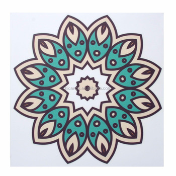 Floor and Wall Tile Decoration PVC Vinyl Sticker