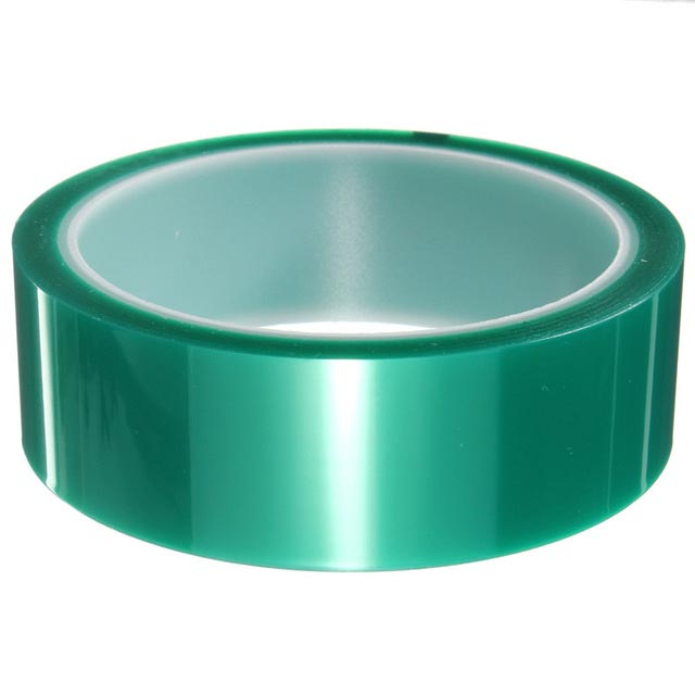 high temperature pet adhesive green tape