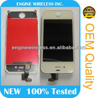 Chinese phones spares for iphone 4s lcd digitizer with touch screen