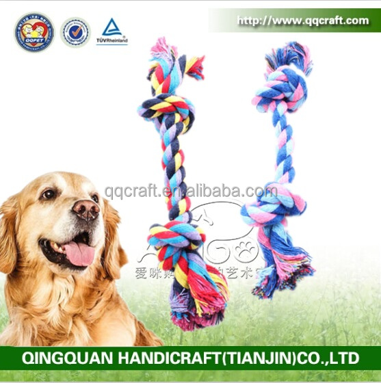 Factory Price Colorful Online Pet Shops Soft Rope Dog Toys for Dogs