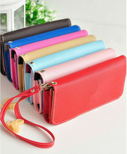 exquisite leather handbag purse case for iphone 5
