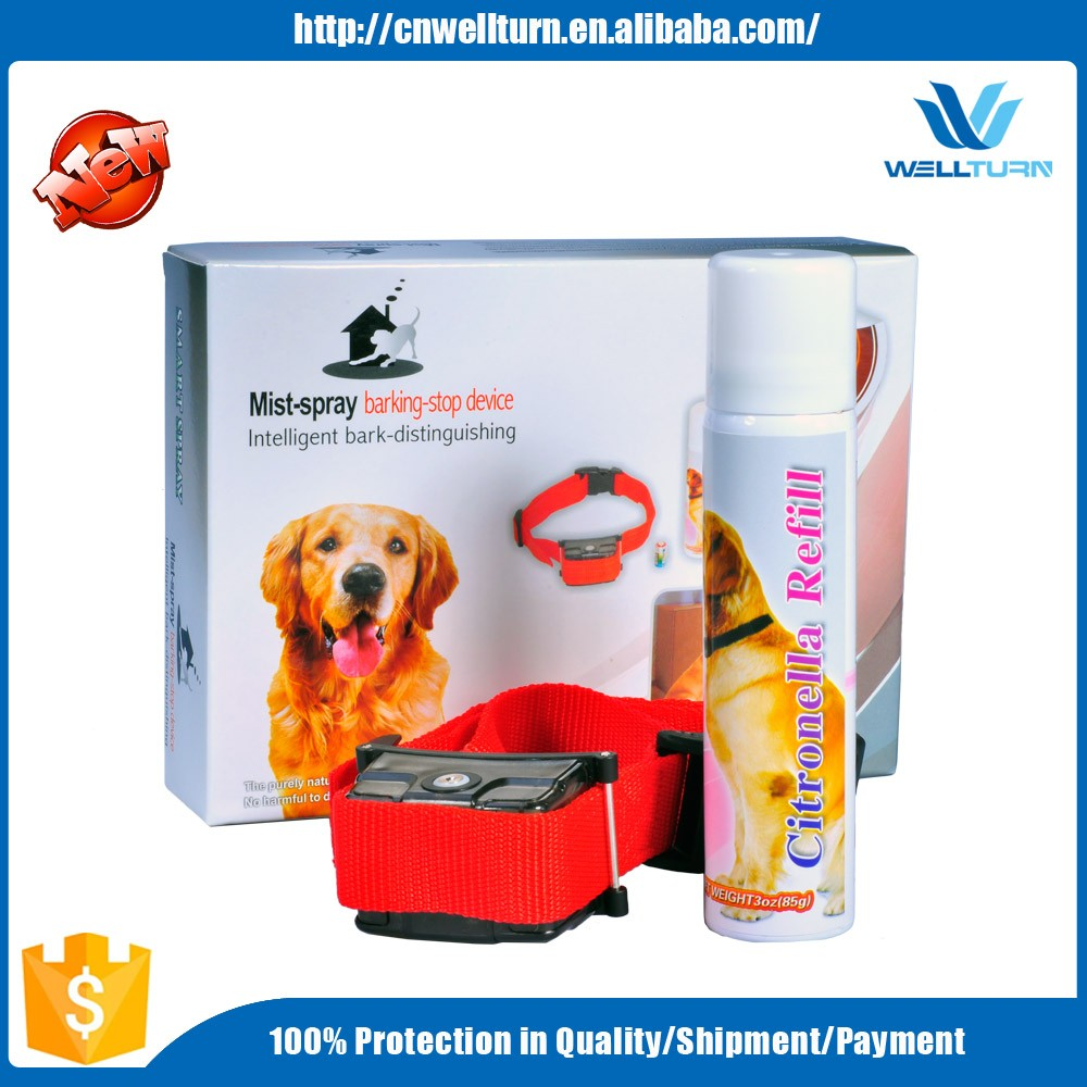 Automatic safe citronella spray to Stop Barking Pet Dog Training Collar