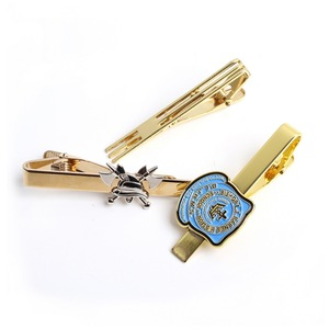 패션 Business Gifts Tie 바 제조업체들 Design Custom Made Logo Metal Tie Clips 대 한 Men 넥타이