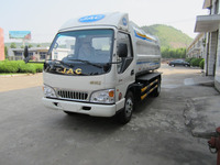 China sino new cheap best high quality self-loading and unloading garbage truck