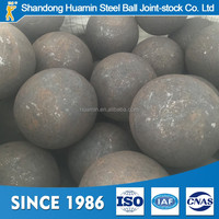 Wearable High Carbon Steel 100MM China Forged Steel Balls For Ball Mill