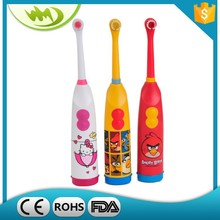 multi-function teeth whitening electric kids toothbrush with 2-AA battery made in china