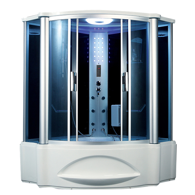 HS-SR062 jetted shower cabin/ touch screen control steam shower room ...