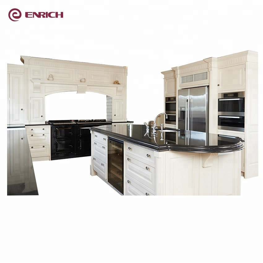 Hot sale simple design prefabricated white lacquer shaker style MDF Kitchen <strong>Cabinet</strong>