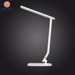 5 Level Dimming Touch Sensor Desk LED Solar Powered Reading Lamp With USB Charging Port