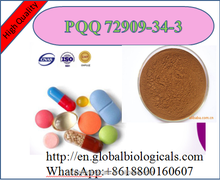 factory fermentation Human used Nutraceuticals Reddish brown powder99%Pyrroloquinoline quinone/PQQ 72909-34-3