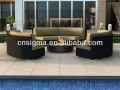 2017 Trade Assurance The Most Popular outdoor waterproof cheap plastic rattan handmade garden sofas for sale