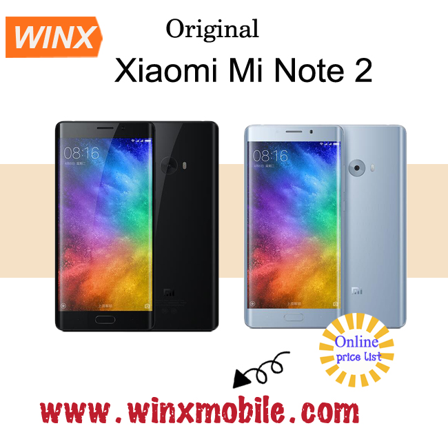 "2017newest! 5.7"" Xiaomi Mi Note 2 Edge android smartphone Snapdragon 821 Fingerprint brand factory online shopping alibaba, com"