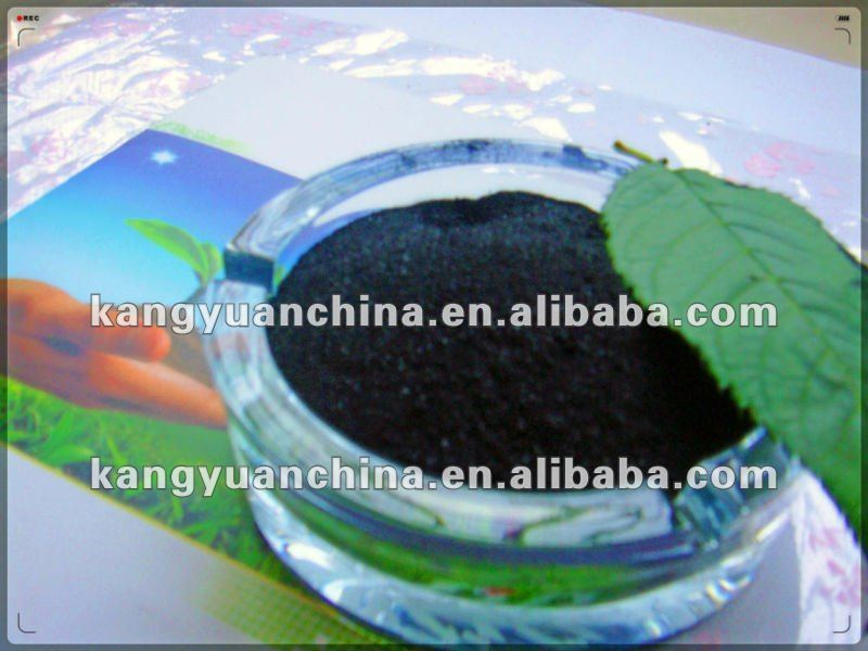 Potassium humate fertilizer liquid formulation