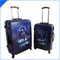 Hard printed pc abs Trolley Case & Suitcase & Bag abs luggage