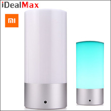 New Original Xiaomi Yeelight Smart Night Lights Indoor Bed Bedside Lamp 16 Million RGB Lights Touch Control Bluetooth For Phone
