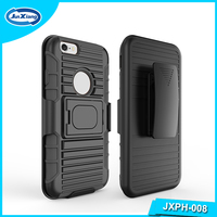 Original Design 3 in 1 Holster Combo Robot Mobile Phone Case for iPhone 6
