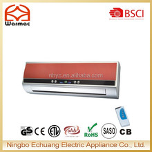 LED display/Remote control/Ocillating louvers Wall mounted PTC heater