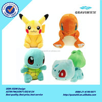 Hot Selling Wholesale Pokemon Go Stuffed