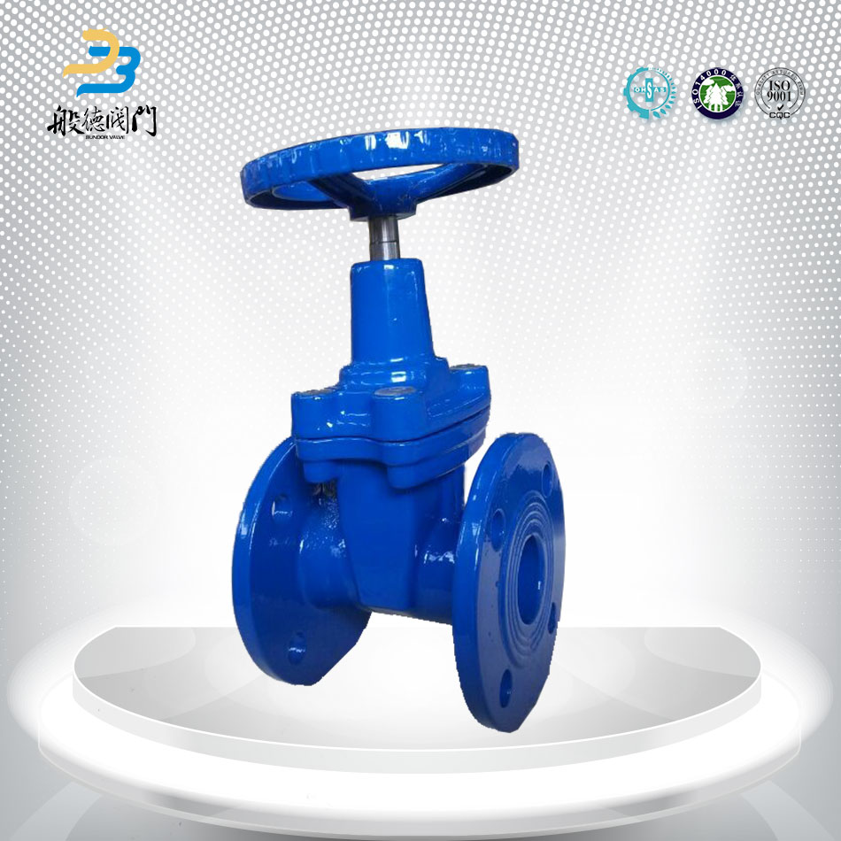 China Manufacturers Manual Flange Chain Wheel Gate Valve