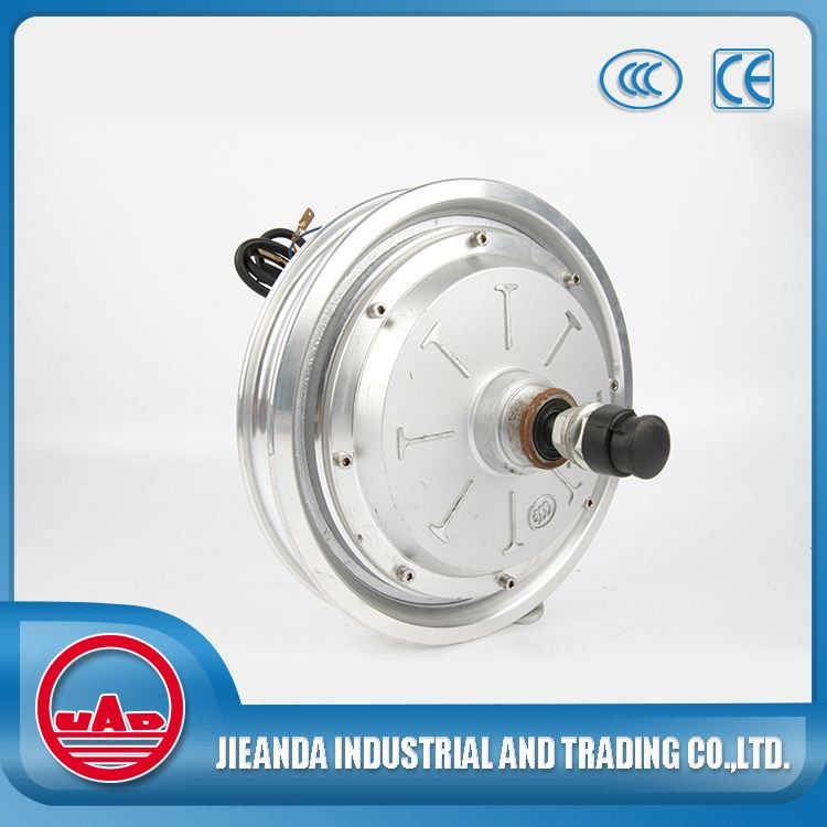 High efficiency brushless gearless hub motor for ebike