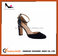 Girls Sexy Fancy woman sandals high heeled suede leather high quality sandals