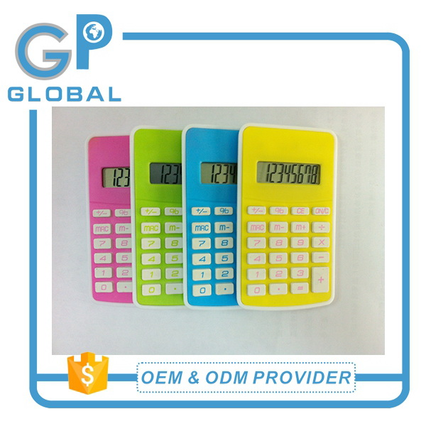 Professional customized crazy selling dual power 12 digits mini calculator