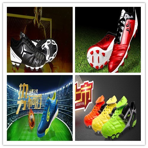 Outdoor men sport soccer shoes wholesale cheap