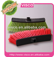 Household cleaning good commodity cleaning partner cheapest price durable floor PET plastic broom head VD115