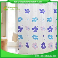 PVC Bag Printed Hotel Using Best Cheap Luxury Shower Curtain