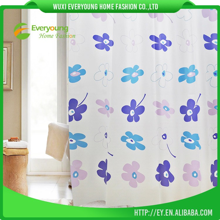 Printed Hotel Using Best Cheap Luxury Shower Curtain