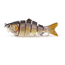 Dropshipper multi-sections plastic fishing lures liable to fish for selling