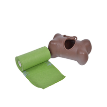 Colorful customized size HDPE pet waste dog poop bag dispenser