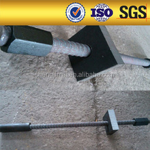 fully anchor thread bar steel tie rod high grade