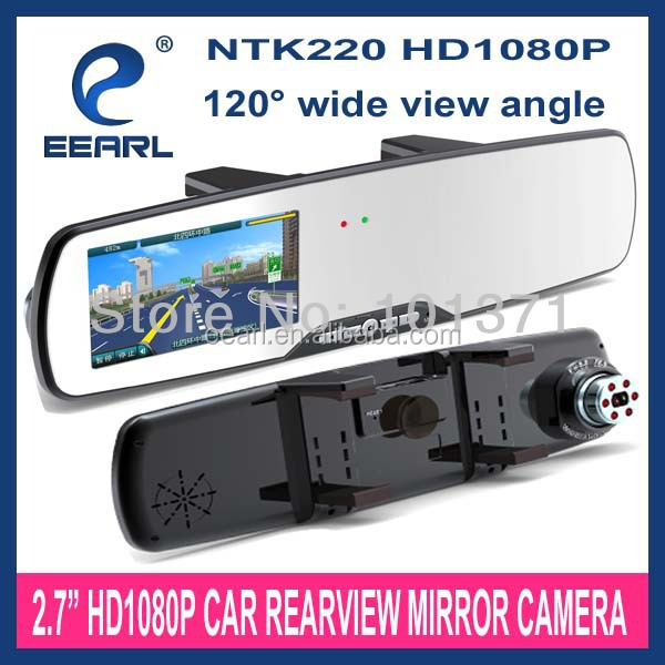 Manufacturer price Full HD 1080P car reverse parking sensors with rearview mirror