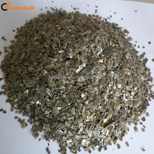 Raw Unexpended Silver And Golden Vermiculite Ore