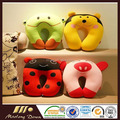 U-Shape Neck Pillow Headrest In Car,Travel Soft Pillow & Cushion