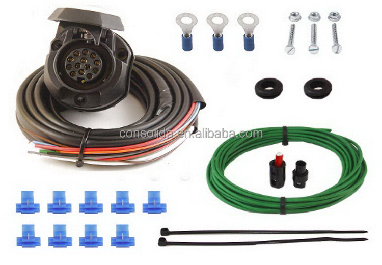 Customized hot-sale car installation wiring kits low price