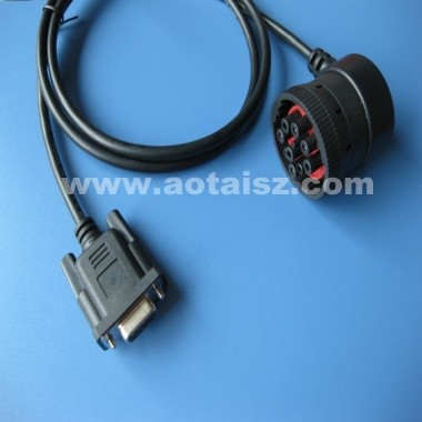 Guangdong China OBDII Truck Cable to DB15 Diagnostic Cable