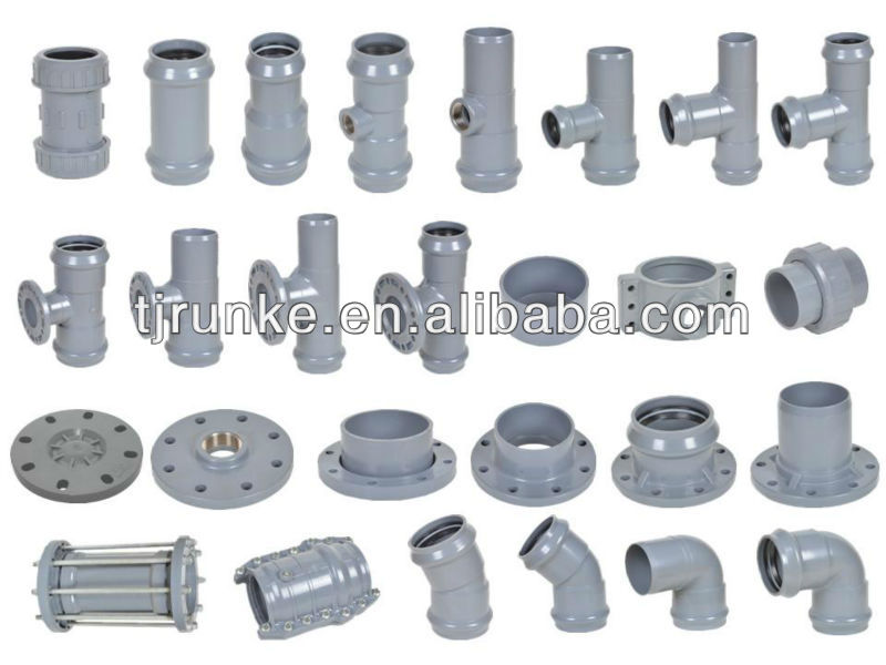 PVC Reducing Socket Rubber Joint Fittings