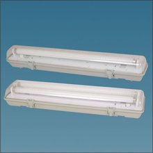 T8 IP65 fluorescent waterproof light fixture