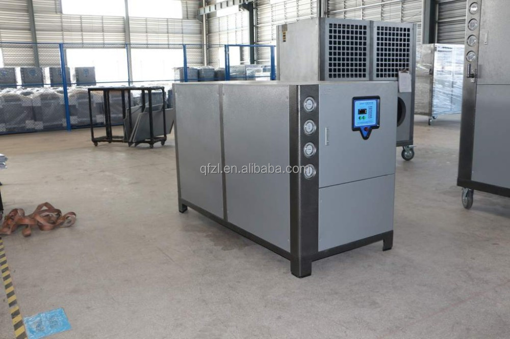 Water chiller for film blowing machine